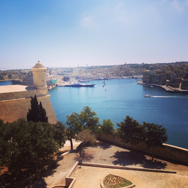 View of Vittoriosa and Senglea from Valletta