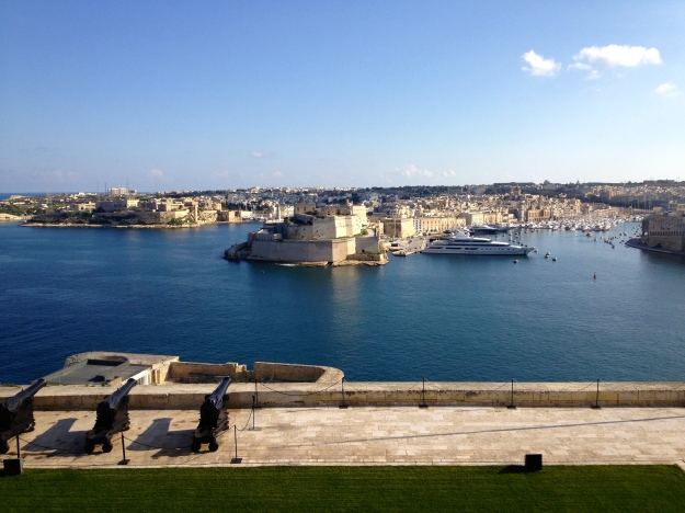 View from Upper Barrakka Gardens, Valletta