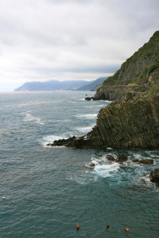 View from Riomaggiore, Cinque Terre