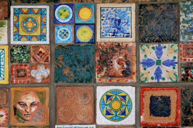 Tiles of Riomaggiore