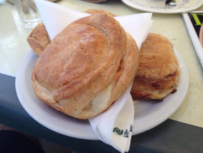 Pastizzi at Cafe Cordina