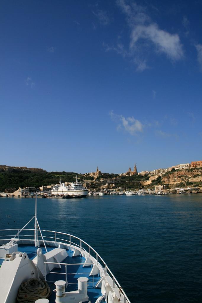 Mgarr, Gozo harbour
